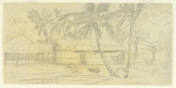 Head-man's house, Minary (Ceylon). 11 February 1868